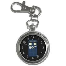 Doctor Who Tardis Police Box Key Chain Pocket Watch Gift model 39158183 - $13.99