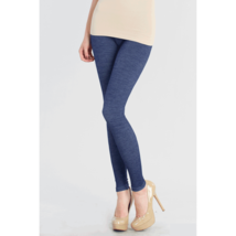 Two Tone Blue Leggings One Size Fits Most - $29.50