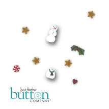 BUTTON PACK for Christmas Trifles cross stitch chart Just Another Button... - $17.85