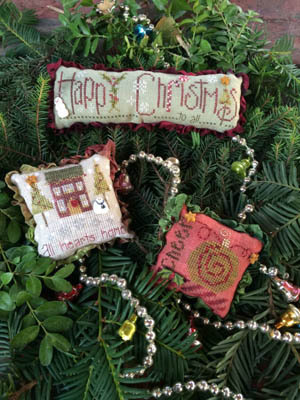 BUTTON PACK for Christmas Trifles cross stitch chart Just Another Button Co