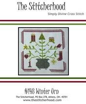 Winter Urn cross stitch chart The Stitcherhood - $7.20
