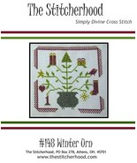 Winter Urn cross stitch chart The Stitcherhood - $7.20