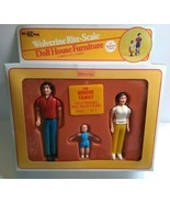 The Bender Family Boxed Dolls Dollhouse Figure Vintage Wolverine Rite Scale 1970 - $44.50
