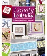Lovely Letters: 9 Cross Stitch Alphabets cross stitch book Annie's Publi... - $16.20