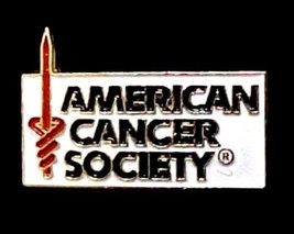 American Cancer Society Lapel Pin Tac  ACS Support Relay for Life Volunt... - $12.71