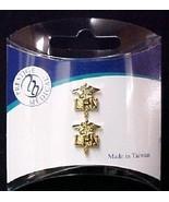 LPN Pin Caduceus Licensed Practical Nurse Lapel Collar Cap Tac Set 2 New - $12.71