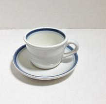Vintage Pfaltzgraff Flat Cup & Saucer Set in Sk... - $9.74