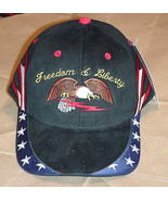 Hat American Eagle Freedom & Liberty Embroidered Baseball Cap - $29.99