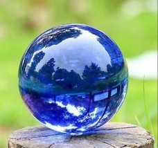 PARANORMAL MAGIC BLUE QUARTZ BALL MAKE ME POWERFUL AND ADORE BY OTHERS - $19.99