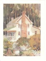 Vintage Greeting Card The Tullie Smith House Atlanta Georgia Atlanta His... - $7.91