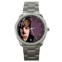 Justin Bieber Sport Metal Watch Gift model 35347915 - $14.99