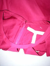 New $495 Womens Halston Heritage 6 Dress Designer Dark Pink NWT Cut Out Neck image 8