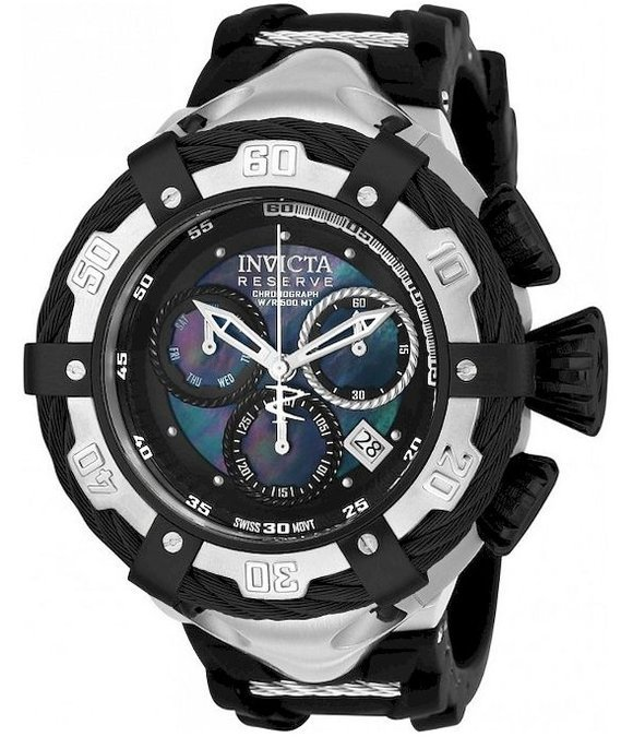 Invicta Watches Men's Watch Bolt JellyFish Diamond Chronograph 21365