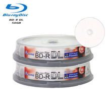 20 Smartbuy 6X BD-R DL 50GB Dual Layer White Inkjet Hub Printable Record Disc - $36.99