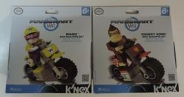 Nintendo Mario Kart Wii lot of Wario and Donkey Kong bike building sets ... - $26.00