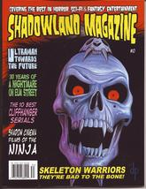Shadowland Magazine #10 Ultraman Skeleton Warriors 30 Years Of Freddy Kr... - $11.95