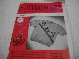 Workbasket Magazine January 1956 - $3.00
