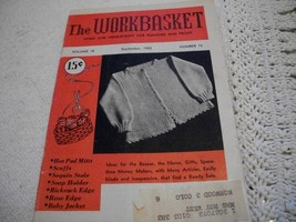 Workbasket Magazine September 1953 - $3.00