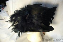 Bethany Lowe Haunted Raven Crow Halloween Top Hat no. RL2899 image 1