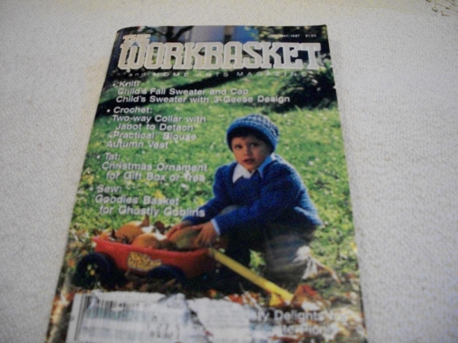 Workbasket Magazine October 1987 - $3.00