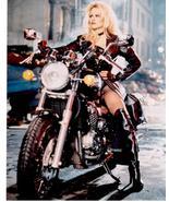 Baywatch Pam Anderson Harley Vintage 8X10 Color TV Memorabilia Photo - $6.99