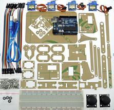 Mini Industrial Robotic Robotics Arm kit Servo Joystick UNO R3 for Arduino use - $43.50