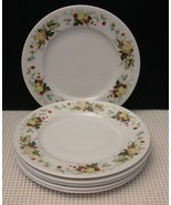 """MIRAMONT"" TC1022 Royal Doulton Lot of 6 BREAD & BUTTER PLATES China Fruit - $24.73"