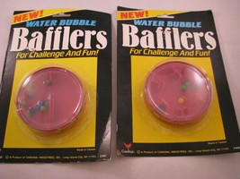 NEW 2 Vintage Water Bubble Bafflers Ball Maze Games Puzzles Cardinal NOS - $9.74