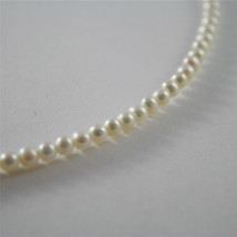 925 RHODIUM SILVER NECKLACE WITH FW WHITE PEARLS AND HEART GIRL PENDANT 18.11 IN image 4