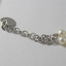 925 SILVER BRACELET WITH HEARTS AND GIRLS PENDANTS, FW WHITE PEARLS AND ZIRCONIA image 5