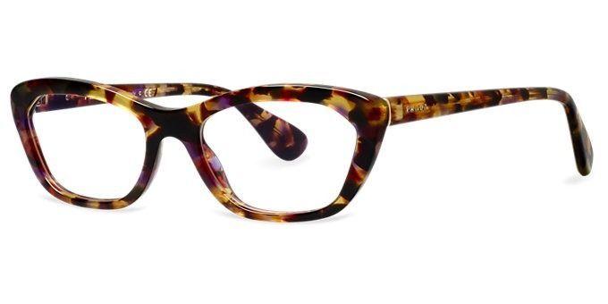 Prada PR 03QV PR03QV PDN-101 Tortoise/Pink Eyeglass Frame ...