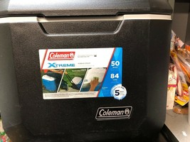 Colman Extreme Marine Cooler 50 Qt Wheeled Soda Beer Food Bait Storage C... - £57.31 GBP