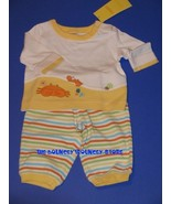NWT Gymboree Boys Under The Sea 2 Pc Outfit Sz 0 3 M - $17.99