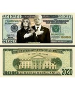 Pack of 50 - Donald Trump 2020 Re-Election Presidential Dollar Bill Firs... - $11.99