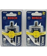 "Bosch Edge 1 1/8"" Bi-Metal Hole Saw (2X Life) Impact Ready HTW118 Lot of... - $24.74"