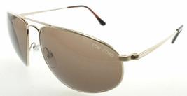 Tom Ford Nicholai Gold / Brown Sunglasses TF189 28J - $185.22