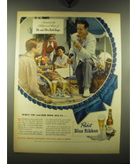 1948 Pabst Blue Ribbon Beer Ad - Mr. and Mrs. Bob Hope - $14.99