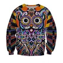 Owl 3D Religion 3D Sweatshirt - $36.58