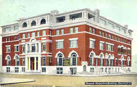 Womens Federation Bldg Elmira New York 1910 Post Card - $5.00