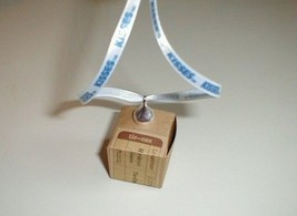 Longaberger 3 Hershey Kiss Basket Tie On Pewter New In Box Genuine - $17.82