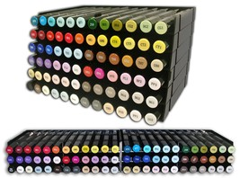 Crafters Companion Spectrum Noir Marker & Pen Storage System Stackable 6... - $19.95