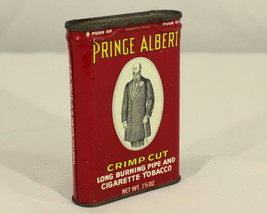 Vintage Old Prince Albert Crimp Cut Tobacco Adv... - $8.90