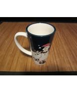 Trish Richman At Home Christmas Holiday Tall Coffee Mug Tea Cup Snowman - $14.99