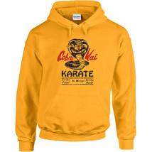 147 Cobra Kai Hoodie karate dojo martial arts movie 80s kid costume Size... - $30.00