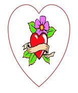 Heart0574-Digital Download-ClipArt-ArtClip-Digi... - $3.00