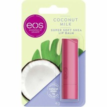 eos Lip Balm COCONUT MILK lipstick 1ct. Made in GERMANY FREE SHIPPING - $10.88