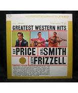 Greatest Western Hits Volume I  1963 Columbia Records - $3.99