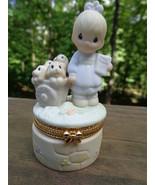 Precious Moments Figurine 1998 God Loveth A Che... - $15.00