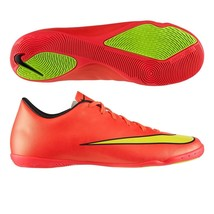 NIKE MERCURIAL VICTORY V IC INDOOR SOCCER CR7 SHOES FOOTBALL Hyper Punch -  $85.00