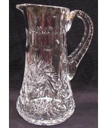 Syrup Honey Pitcher Hand Cut Crystal - $46.00